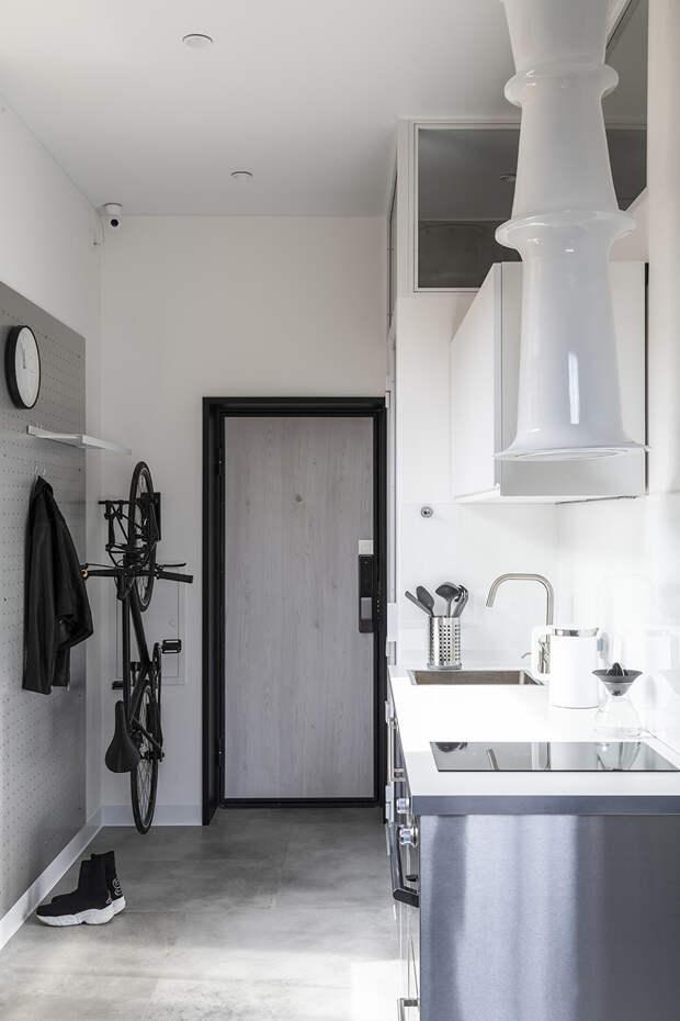 Квартира 18 м² со всем необходимым для жизни