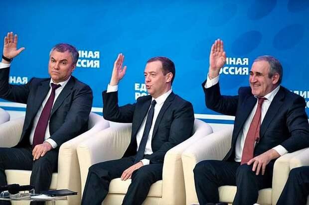 Призыв Шарикова все отнять и поделить, необычайно популярен в «Единой России», которая именно этим и занимается