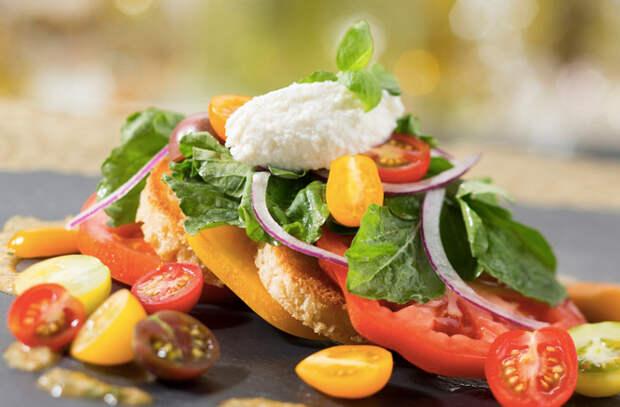Вкуснейшая еда из садовых помидоров