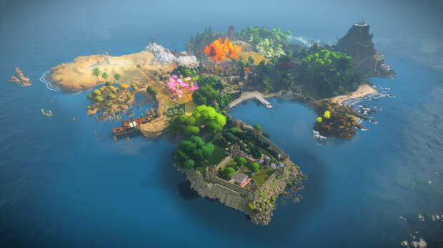 В Epic Games Store бесплатно раздают головоломку The Witness