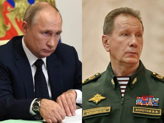 Глава Росгвардии предложил Путину выдавать оружие россиянам с 21 года