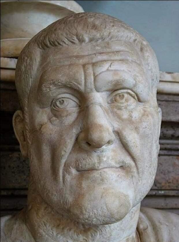 Максимин Фракиец, император Рима. | Фото: storyfiles.blogspot.com.