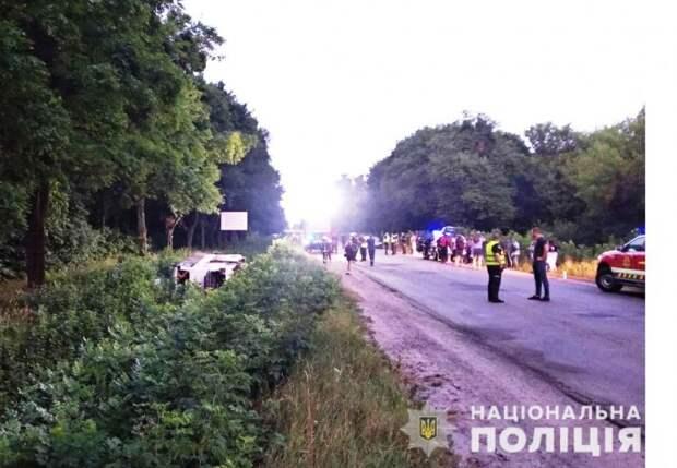 В ДТП в Ровенской области пострадали более двадцати человек