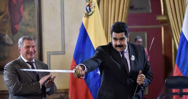 США хотят наказать россиян за Венесуэлу