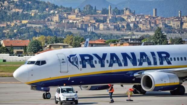 Пилоты компании Ryanair самостоятельно решили садиться в аэропорту Минска