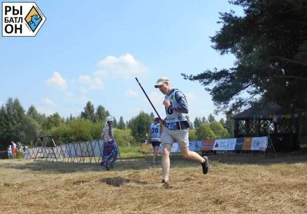 Рыбатлон под Рязанью прошёл в рекордно жаркую погоду