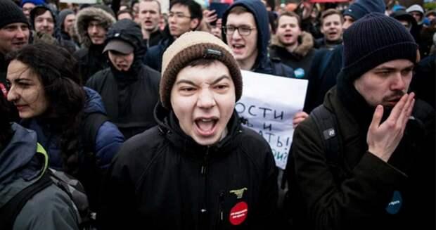 Путин уходи: проблемы подрастающего поколения...