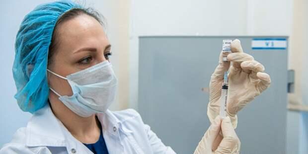 Сотрудники космической корпорации из Лефортова привьются от коронавируса