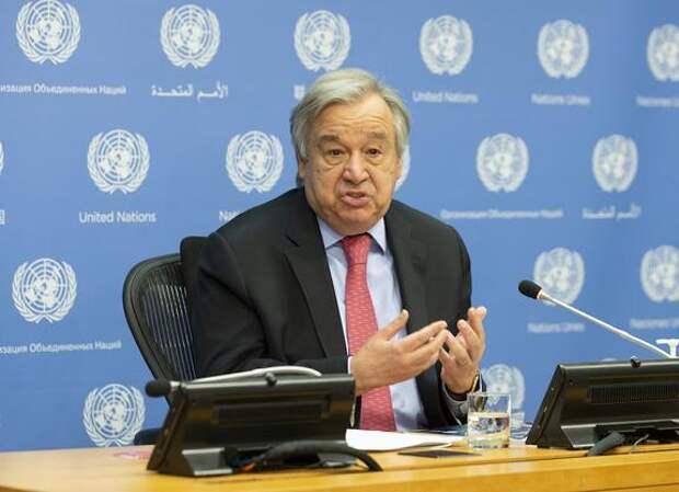 Генсек ООН Гутерреш призвал ВОЗ признать «Спутник V»