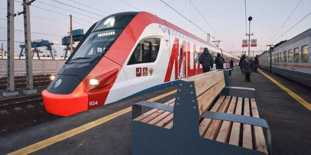 На МЦД-2 временно ограничат движение между станциями Курская и Дмитровская