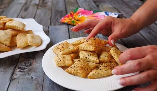 Простое печенье из трех продуктов!