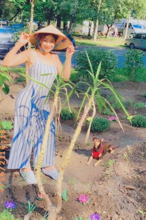 В Восточном Дегунине жительница создала палисадник с азиатским уклоном
