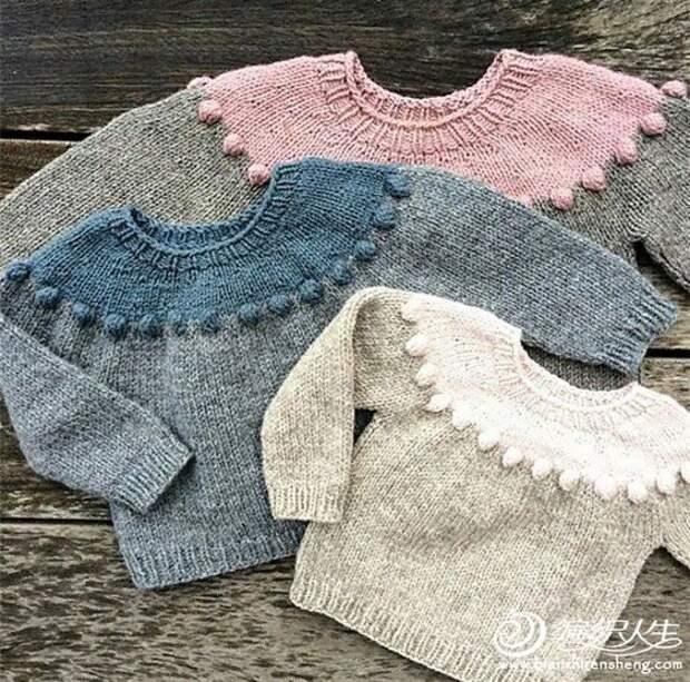 Интересные модели вязаной одежды для детей. Подборка