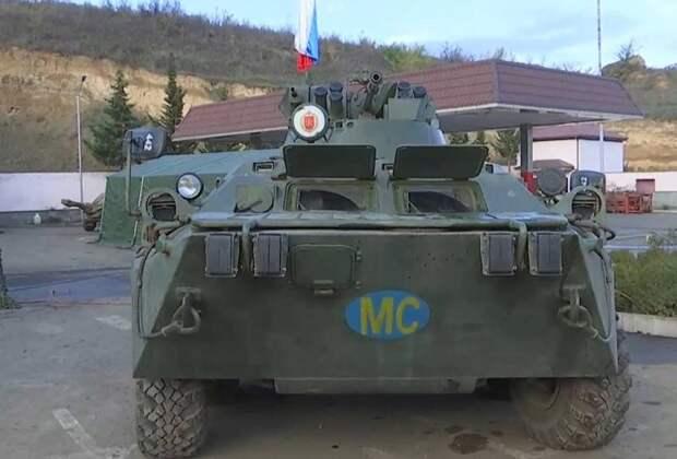 25 ноября – День российского военного миротворца