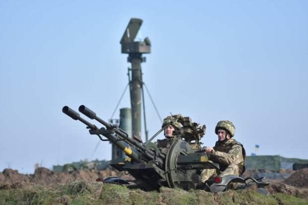 Средства ПВО Украины открыли огонь понеизвестным целям вДонбассе