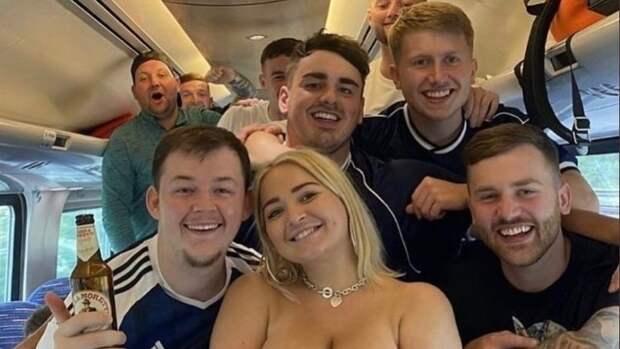 Что творят шотландские фанаты перед матчем Евро-2020 против Англии. Фото, видео