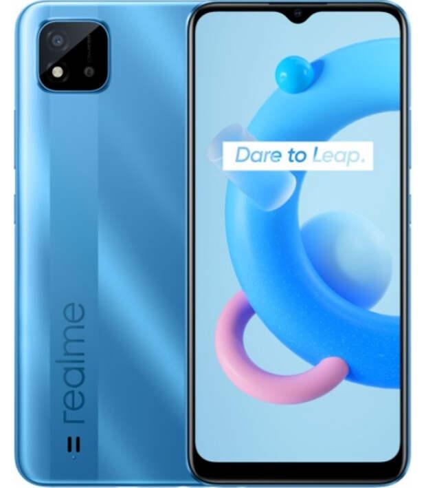 """Вышел бюджетный смартфон Realme C20A с чипом Helio G35 и 6,5"""" экраном HD+"""