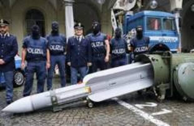 У неонацистов в Италии изъяли ракету «воздух-воздух»