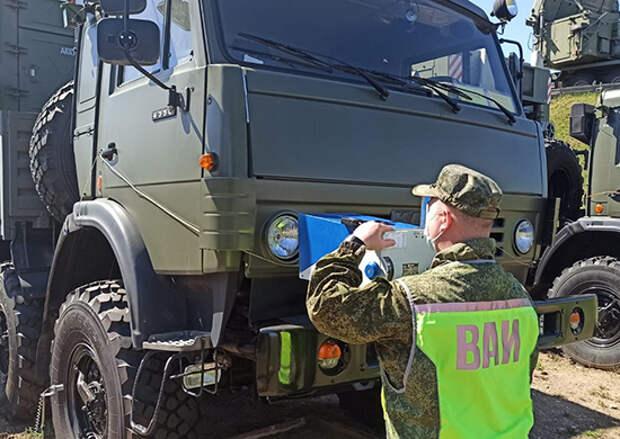 В Кировской области сотрудники ВАИ ЦВО провели с начала года более 800 технических осмотров