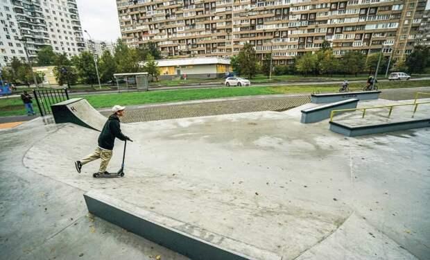 Новоеобщественное пространство появилось в районе Новокосино