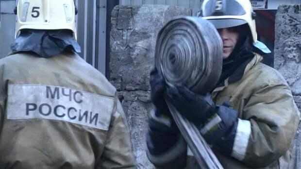 МЧС сообщило о ликвидации крупного пожара в Омской области
