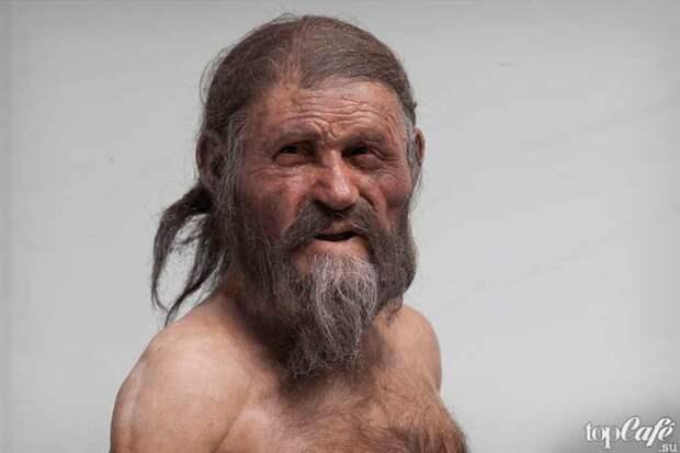 Интересные факты о бороде и усах: Древний человек