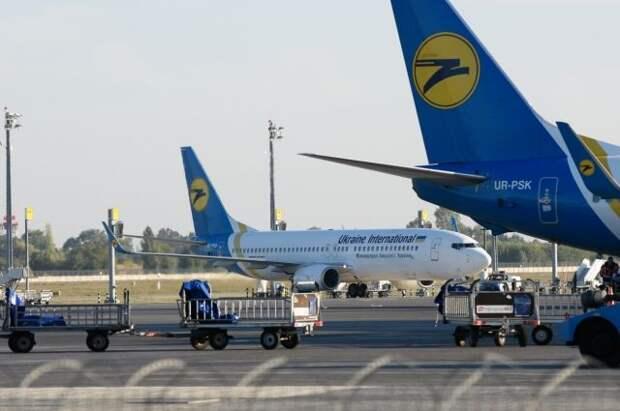 Украина объявила о прекращении авиасообщения с Белоруссией