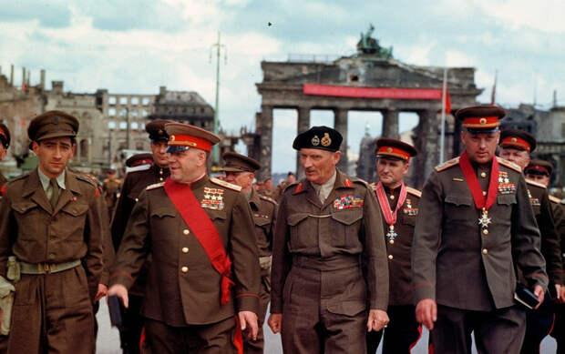Почему берлинский парад Победы 1945 года оказался забыт
