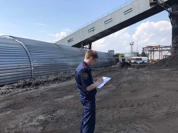 """В СК прокомментировали ЧП на шахте """"Анжерская-Южная"""""""