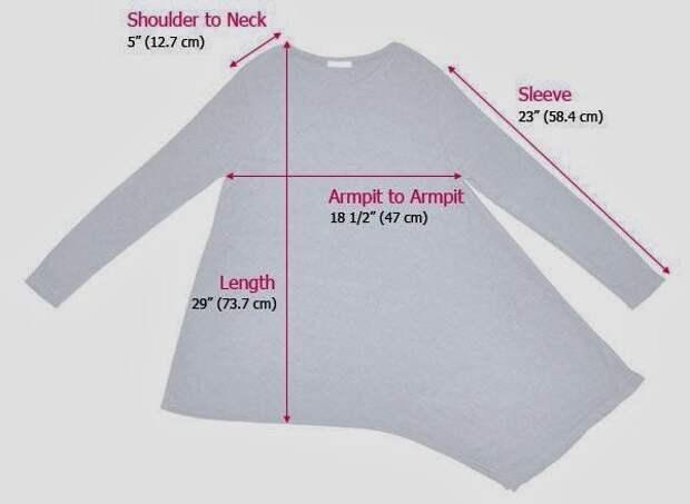 Выкройки косых свитеров