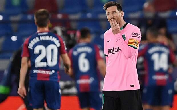 Источник: Месси продлит контракт с «Барселоной» на 2 года