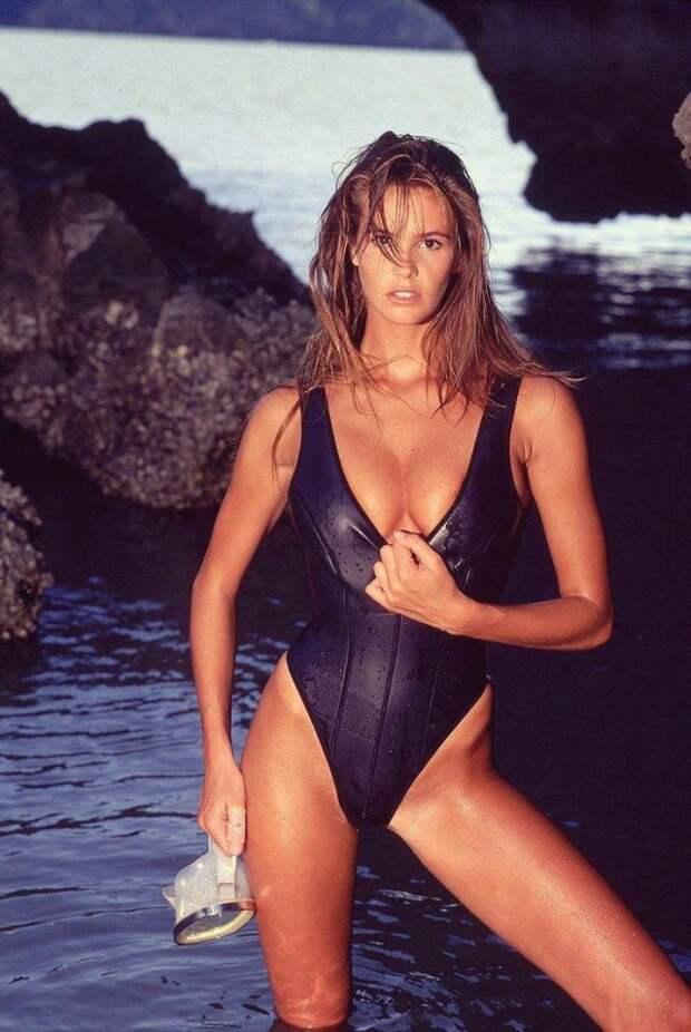 Австралийская топ-модель, актриса и дизайнер Эль Макферсон, 1988 год
