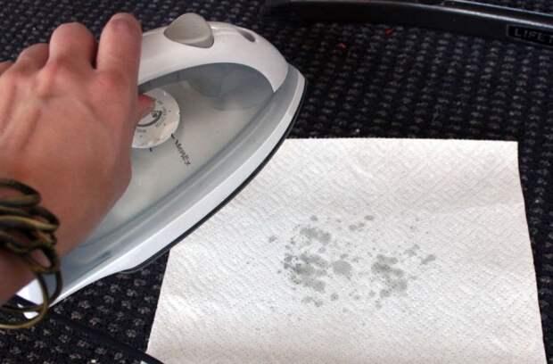 Вместо туалетной бумаги можно использовать бумажную салфетку/ Фото: cleanadvice.ru
