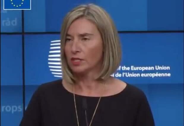 Могерини прокомментировала ситуацию в Азовском море