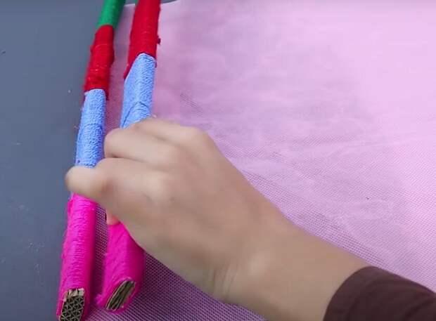 Коврики, которые не надо ни шить, ни вязать. Очень простой способ изготовления