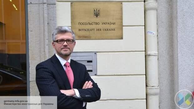 Украинский посол Мельник обвинил Штайнмайера в поддержке РФ