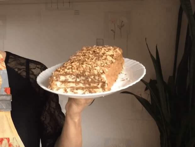 Ни грамма муки! Вкуснейший торт для памятного чаепития