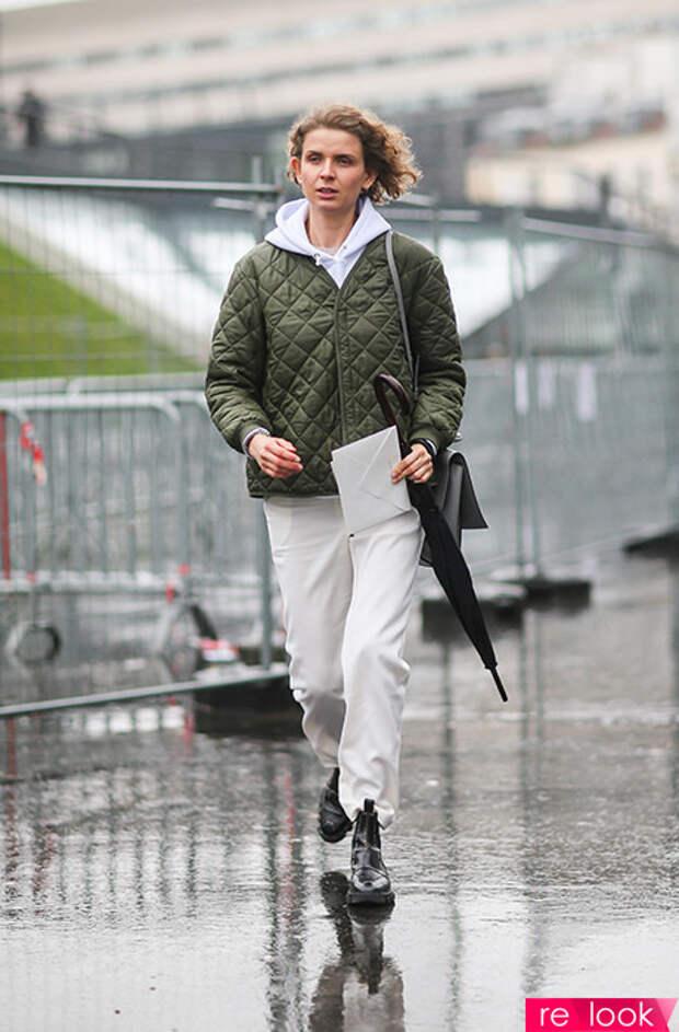 что одеть в дождь