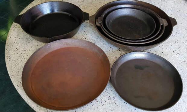 Восстанавливаем старую чугунную посуду