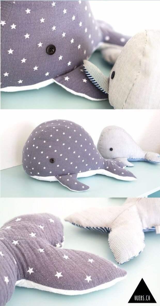 выкройка кита мягкая игрушка