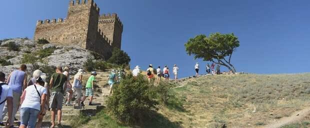 Поток туристов в Крым снизился по сравнению с прошлым годом