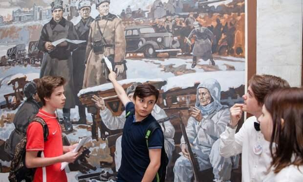 Школа №1420 стала партнёром Музея Победы