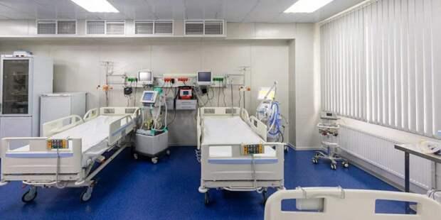 Москва рассматривает возможность ввода 10 тыс коек во временных госпиталях - Собянин. Фото: mos.ru