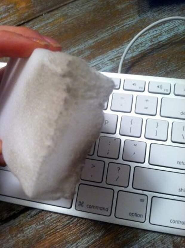 Где и как использовать меламиновую губку?