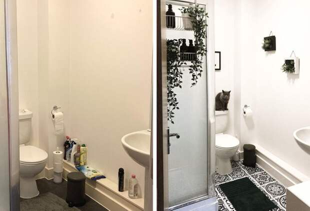 20+ человек, которые хотели чуть-чуть улучшить ванную, а в итоге сделали нечто потрясающее