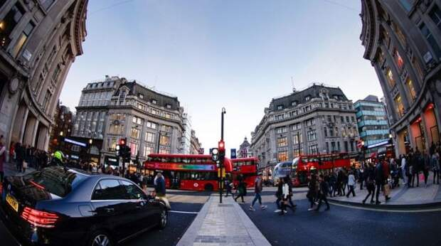 Жители Лондона тоже не отличаются особым гостеприимством. /Фото: zagranitsa.com