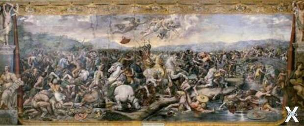 Битва у Мульвийского моста, Джулио Ро...