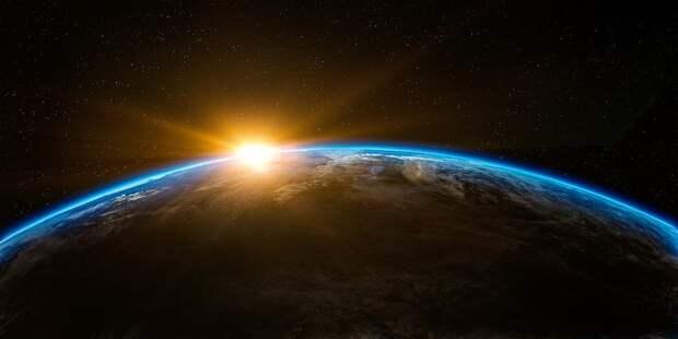 Земли, Пространство, Солнечный Свет, Лучи Солнца