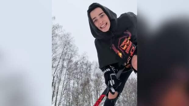 Звезда ТикТока Милохин хочет попасть в сборную России по хоккею. Его уже пригласили в школу «Красная машина»