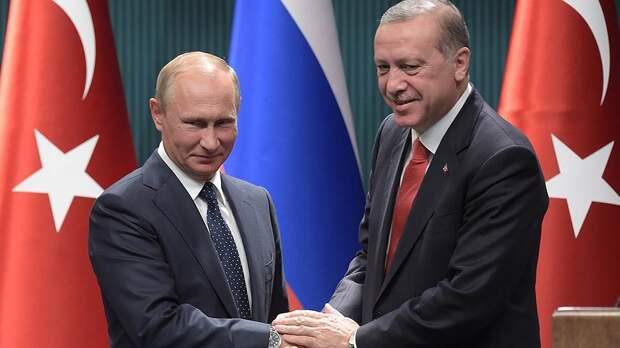 ВИДЕО: Путин встретился с Эрдоганом на МАКС 2019